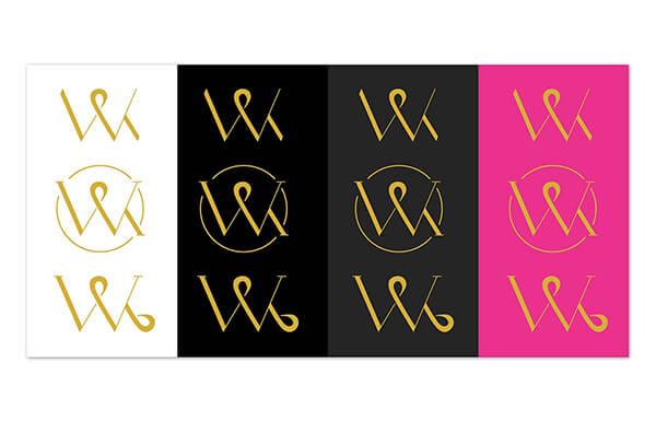 Webpixelkonsum: Logo-Entwürfe
