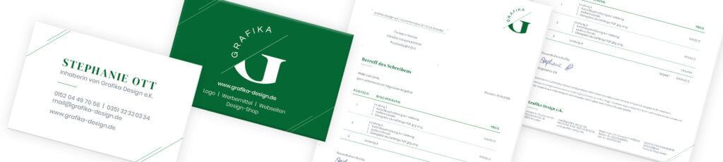 Grafika Design: Geschäftsausstattung