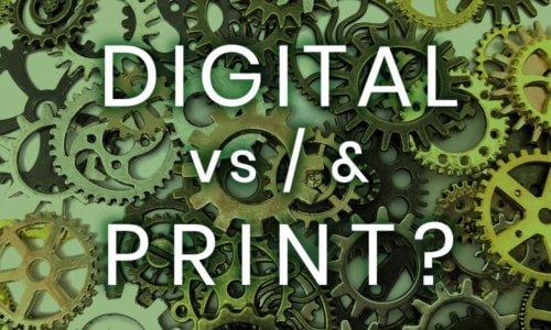 Flyer Design: Printmedien vs. Online-Marketing