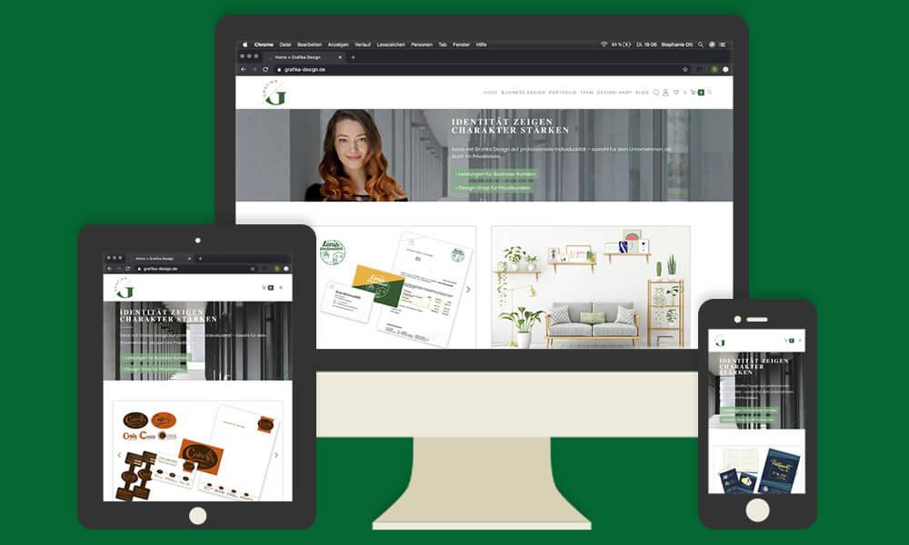 Checkliste Bestandteile einer Website Blog Grafika Design