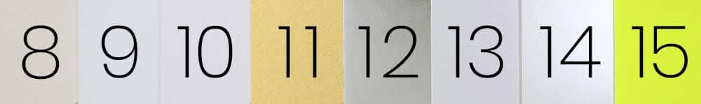 Papiersorten für den Druck von Werbemitteln Papier-Eigenschaften Papierfarbe Grafika Design
