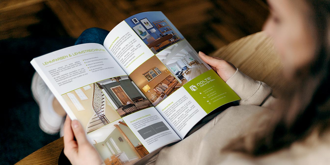 Nolte Naturfarben: Farb-Katalog / Broschüre