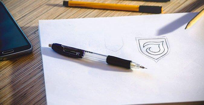 Logo Scribble